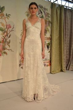 @Claire Pettibone Iris gown | Bridal Fashion Week Claire Pettibone Still Life Collection | Little White Dress Bridal Shop: Denver Bridal Gowns & Wedding Dresses
