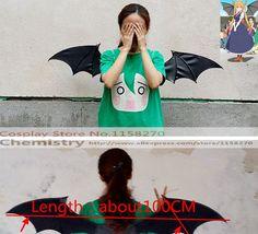 Miss Kobayashi's Dragon Maid Tohru Cosplay vleugels
