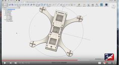 Drone Design 101 in Fusion 360 – The Shapeways Blog – Looking for a new tool for your CAD design? Are you into racing drones? Great, check out this tutorial on building a racing drone frame by Eli DElia. Eli is a founder at the Aerial Sports League and an expert designer in Autodesk's new software Fusion 360. What makes this so exciting is that Unlike many older design applications, Fusion 360 has been built by Autodesk with 3D printing in mind. Even better, if you run a startup that...