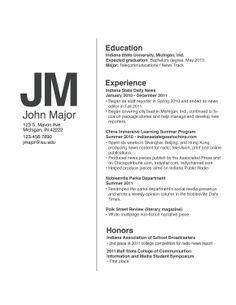 Modello di #CV #Resume Design Template. #CurriculumVitae