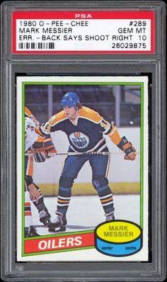 1980 O-pee-chee Mark Messier Rc Hof Back-shoots Rt. Football Trading Cards, Hockey Cards, Baseball Cards, Mark Messier, Griffey Jr, Edmonton Oilers, Babe Ruth, Nfl Football, Nhl