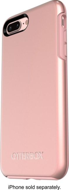 OtterBox - Symmetry Series Metallic Case for Apple® iPhone® 7 Plus - Metallic/rose gold (Grey/Rose Gold)