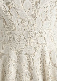 This would be much better than the doilies I've glued together.  Probably sturdier.  I could wear it in the rain.  #modcloth