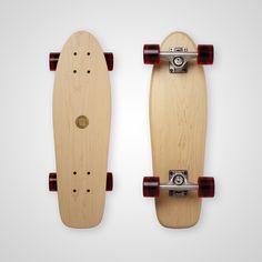 Cruiser Mini - White (Maple) – Skills or Skulls Skateboards Skull Logo, Longboarding, Classic Mini, Skateboards, Surfing, Chrome, Bronze, Steel, Shopping