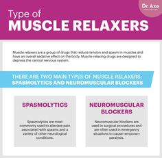 Types of muscle relaxers - Dr. Axe http://www.draxe.com #health #holistic #natural