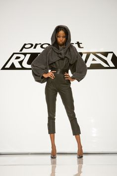 Emily Payne look from episode 3 of Project Runway Season 13