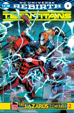 Flash Fans Should Pick Up Tomorrow's Teen Titans #8 As Well As Flash #22 For DC Rebirthness