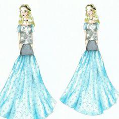 Wonderland (31)  Fashion sketch