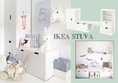 Soms is het moeilijk om in de winkel alle mogelijkheden te zien. Dat geldt wat mij betreft ook voor de IKEA Stuva kast. Deze kast is basic maar jeetje...wat kan je hier ontzettend veel mee! Ik heb schitterende foto-voorbeelden gevonden van hoe deze IKEA kast op de kinderkamer kan staan. Dus meer behoefte aan opbergruimte?