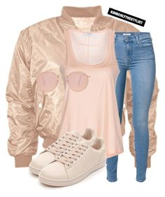 """""""Untitled #2115"""" by whokd ❤ liked on Polyvore featuring 7 For All Mankind, Givenchy and Ray-Ban"""