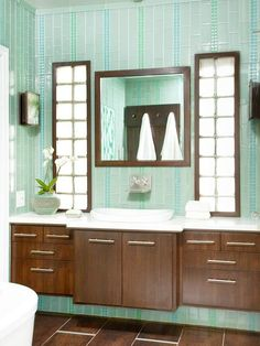 Find out which tile pattern is right for your bathroom by exploring these six tile styles. Gather inspiration for your home with these simple design tips and flooring ideas.