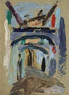 Gabriele Münter (1877-1962) Gasse mit Torbogen