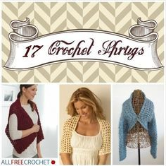 20 Free Crochet Shrug Patterns - from light and lacy to warm and chunky, you'll find your favorite here
