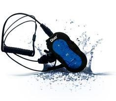 Diver (TM) Waterproof MP3 Player. 4 GB. Kit Includes Waterproof Earphones. NEW. (Blue) Diver http://www.amazon.com/dp/B00GYIC8AW/ref=cm_sw_r_pi_dp_T70-ub0B4WFT4