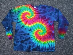 Hey, I found this really awesome Etsy listing at https://www.etsy.com/listing/151135959/happy-swirls-tie-dye-long-sleeve-size-xl