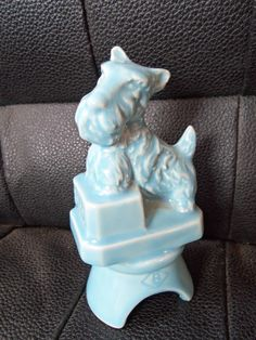 Baby blue Scottie/Schnauzer dog :: Pie Bird