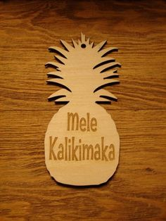 """Hawaii pineapple mele kalikimaka - we used to sing this along with Arthur Godfrey playing it on the ukelele: """"Mele Kalikmaka is the Thing to Say on a Bright Hawaiian Christmas Day..."""" jlf"""