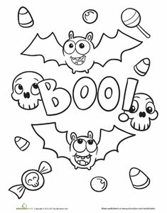 Pumpkins Pattern for Halloween Holiday Crafts for Kids