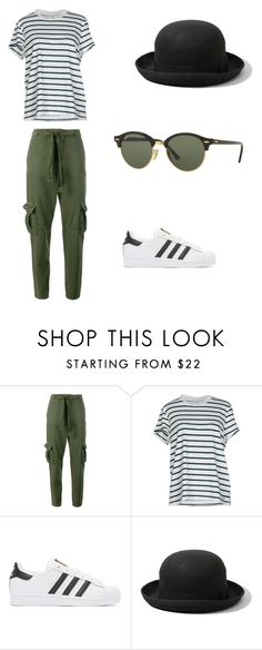 """""""Untitled #143"""" by mxpickles ❤ liked on Polyvore featuring Current/Elliott, ONLY, adidas Originals, Abercrombie & Fitch and Ray-Ban"""