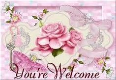 """Picture of """"You're Welcome! Welcome Quotes, Welcome Images, You're Welcome, Welcome To The Group, Thank You Happy Birthday, Get Well Wishes, Happy Friendship Day, Everything Pink, Heartfelt Creations"""