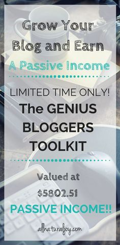 The Genius Bloggers Toolkit is AMAZING!!! I can't believe how many resources come with it. You even get the ENTIRE Elite Blog Academy Conference to watch at home. This will definitely help me grow my blog!  #affiliate  #passiveincome #blogging #eliteblogacademy