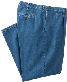 Lee pants at Kohl's -These men's Lee pants feature a double-pleated design. Shop all our Lee pants at Kohl's. Denim Button Up, Button Up Shirts, Big & Tall Jeans, Man Lee, Mens Big And Tall, Denim Pants, Bermuda Shorts, Stylish, Classic