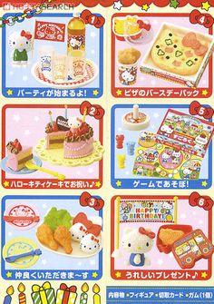 サンリオキャラクター ハローキティ わくわくおたんじょうび 6個セット (食玩) 商品画像3