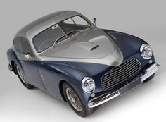 Ferrari's first road car, the 1948-50 166 Inter Coupe.
