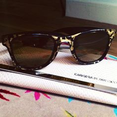 Carrera by Jimmy Choo Sunglasses Instagram by Kenza Sadoun