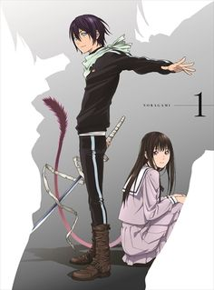 Noragami | Yato and Hiyori