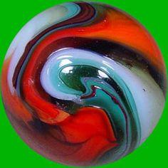 The Peltier Glass Company  Multicolor swirl
