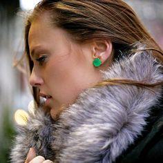 Faceted Stud Earrings by Kate Spade
