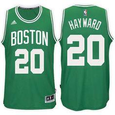 204de9a8da6 Boston Celtics Gordon Hayward Road Green New Swingman Stitched NBA Jersey