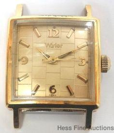 b18f3639e93fb Minty-Vintage-1950s-Wyler-Incaflex-Unisex-Square-Wrist-Watch-Running.
