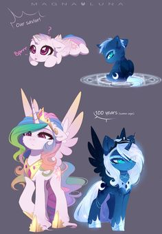 Young tyrants (Magnaverse AU) by MagnaLuna on DeviantArt Arte My Little Pony, Dessin My Little Pony, My Little Pony Cartoon, My Little Pony Characters, My Little Pony Drawing, My Little Pony Pictures, Mlp My Little Pony, My Little Pony Friendship, Fictional Characters