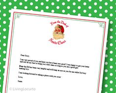 Four Santa Traditions and FREE Printables www.247moms.com #247moms