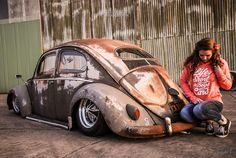 Classic Car News Pics And Videos From Around The World Vw Rat Rod, Kdf Wagen, Hot Vw, Rat Look, Vw Vintage, Vw Cars, Buggy, Vw T1, Volkswagen Group