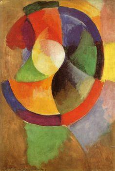 Robert Delaunay Circular Forms Sun No 2 c1912