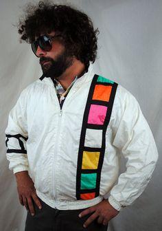 Vintage Tommy Hilfiger Colorblock Hooded Windbreaker