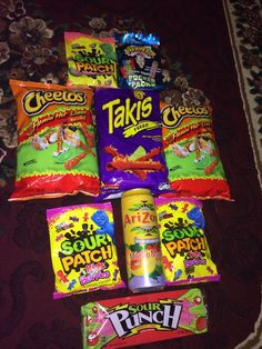 This is literally me. Those are all of my favorite things.  especially the Takis