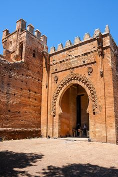 Entering The Chellah - Rabat, Morocco. This is my grandparents' favorite place in the city