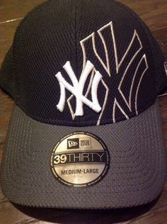1bf6076560f New Era MLB New York Yankees. NY Yankees Shadow Graphite M L Fitted Hat - New  Era Team Colors - gray brim and underbrim