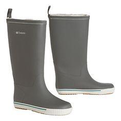 Fleece lined rainboots for winter!