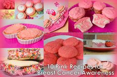 10 Pink Recipes for Breast Cancer Awareness Month