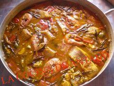 Ya hemos comentado en varias ocasiones que la cocina alicantina está totalmente influenciada por su mar, el mar Mediterraneo. Asi, la ma... Spanish Kitchen, Ratatouille, Risotto, Tapas, Curry, Beef, Ethnic Recipes, Easy, Food