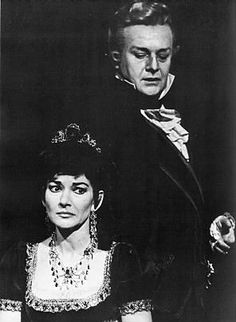 Tito Gobbi - one of my all time favourite singers. Here he is with Callas in Tosca which I was privileged to see - one of the operatic highlights of my life. Read my post by clicking on the link