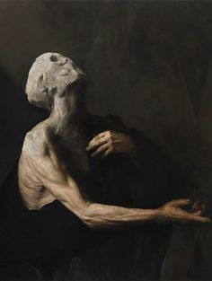 365 Days Of Dark Art : 297 / Nicola Samori Working so much with photography myse… - Classic Art Arte Horror, Horror Art, Fantasy Kunst, Fantasy Art, Art Sinistre, Art Noir, Renaissance Kunst, Arte Sketchbook, Creepy Art