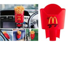 French fry holder because you need it, right? Click to see more unique gadgets..
