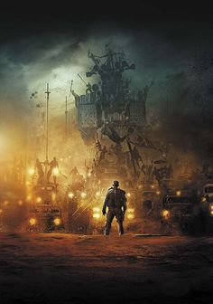 MAD MAX: FURY ROAD Art Book and Comic Cover Art — GeekTyrant