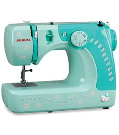 OMG Karen--- A Hello Kitty sewing machine ***too bad that it's in America and the voltage is different!!!